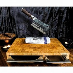 KNIV SATAKE KURO CHOPPER 18cm
